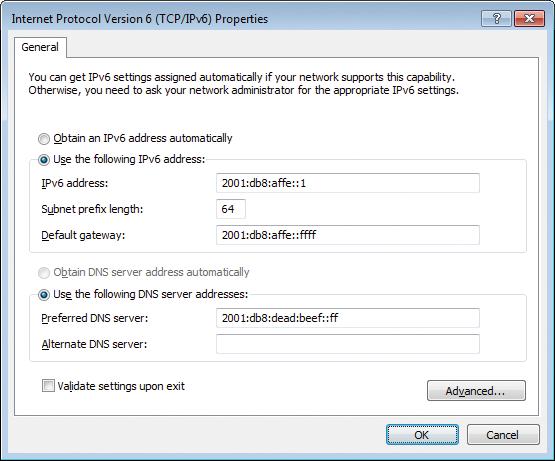 Configuring IPv6 on Windows » ADMIN Magazine