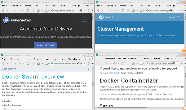 docker management tools