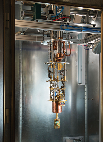 Quantum Computing with D-Wave » ADMIN Magazine
