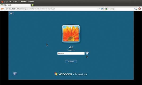 Click to the Future – Remote Desktop Based on H    » ADMIN Magazine