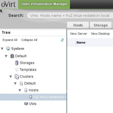 Managing Virtual Infrastructures with oVirt 3 1 » ADMIN Magazine