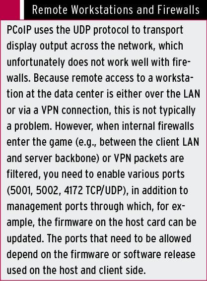 PCoIP Protocol » ADMIN Magazine